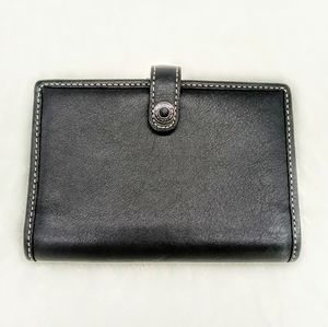 Small Coach Wallet Genuine Leather